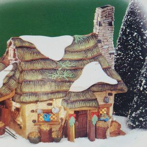 Dept 56 McShane Cottage Dickens Village set of 2